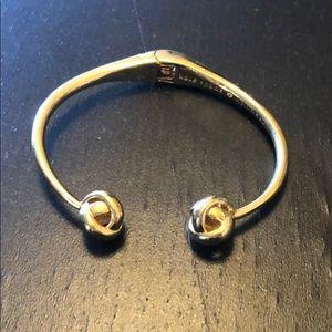 Gold Kate Spade knot bracelet AUTHENTIC